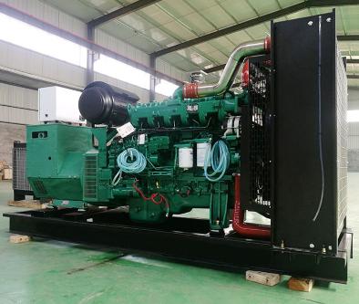 长沙星城县泰豪500kw大型柴油发电机组