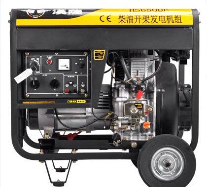 长沙宁乡二手上柴5kw小型柴油发电机
