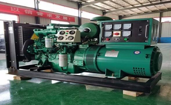 长沙浏阳本田300kw大型柴油发电机组